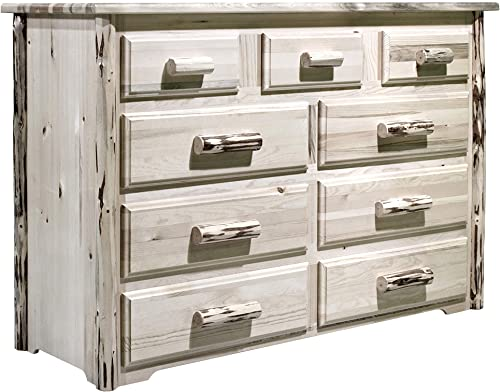 Montana Woodworks Montana Collection 9 Drawer Dresser