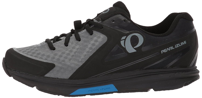 Pearl iZUMi Mens X-Road Fuel v5 Cycling Shoe Black//Grey 42.0 M EU 8.5 US