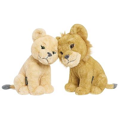 Lion King Kissing Simba and Nala Plush - EXCLUSIVE: Toys & Games