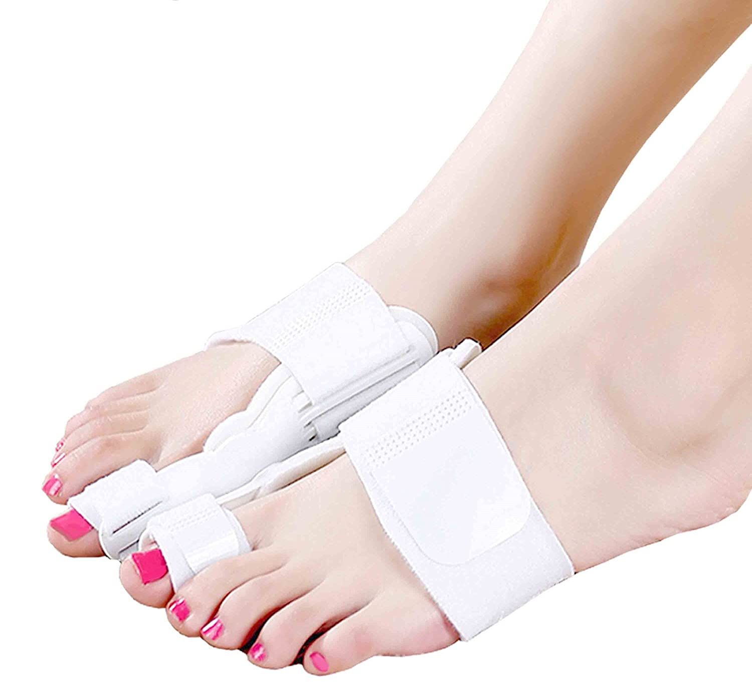 Amazon.com: Bunion Corrector Splint Brace Adjustable Hinged Big Toe ...
