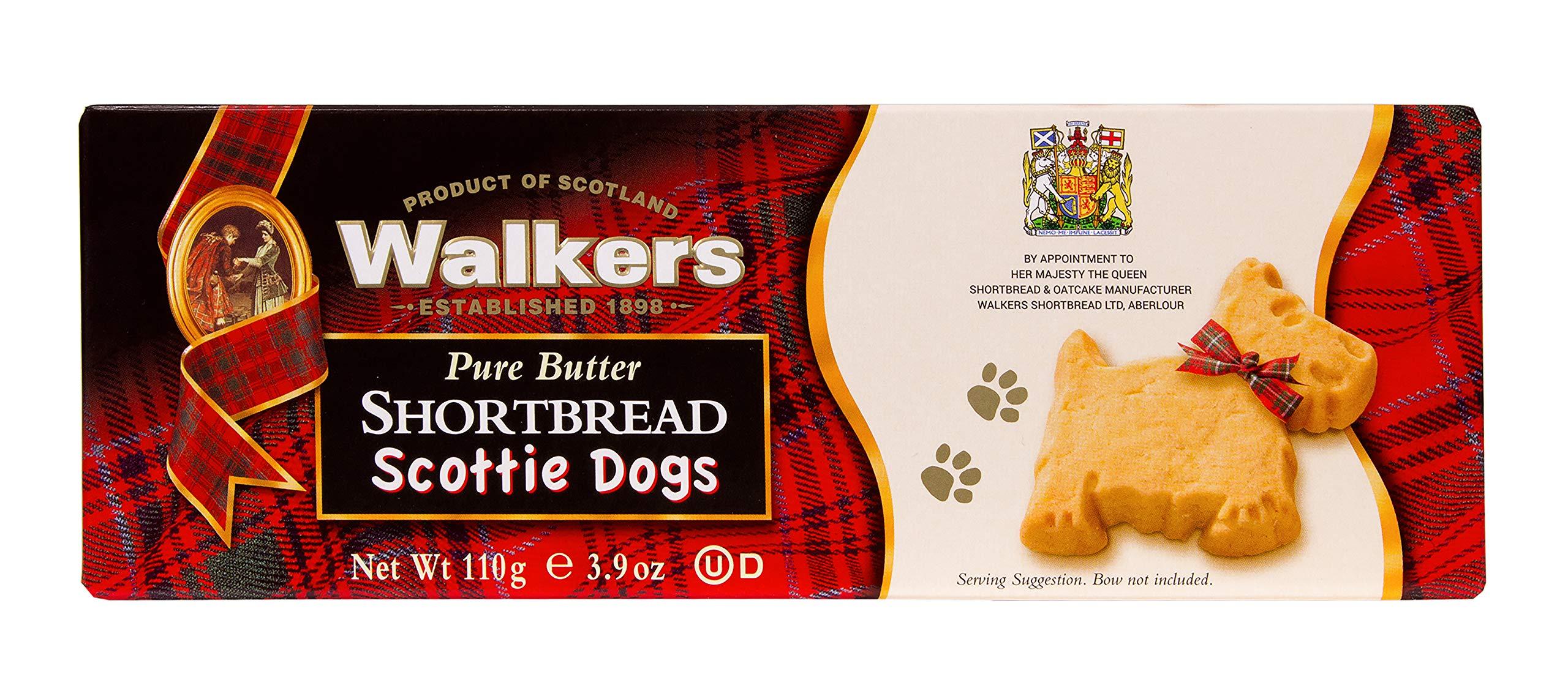 Walkers Shortbread Shortbread Scottie Dogs, 3.9-oz. (Count of 6)