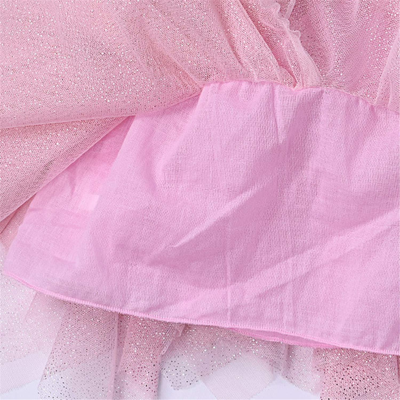 Beverly Stewart Kids Girl Tutu Skirts Children Ball Gown Irregular Pettiskirt Tutu Skirt Tiered Skirt Dancewear Tutu Skirt
