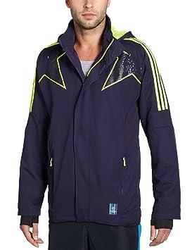 adidas O59943 Veste de sport pour homme PRE UCL WOV Bleu