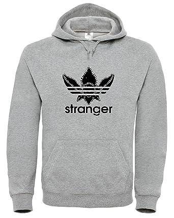 BlackSweatshirt Stranger Things Sudadera con Capucha STR2.: Amazon.es: Ropa y accesorios