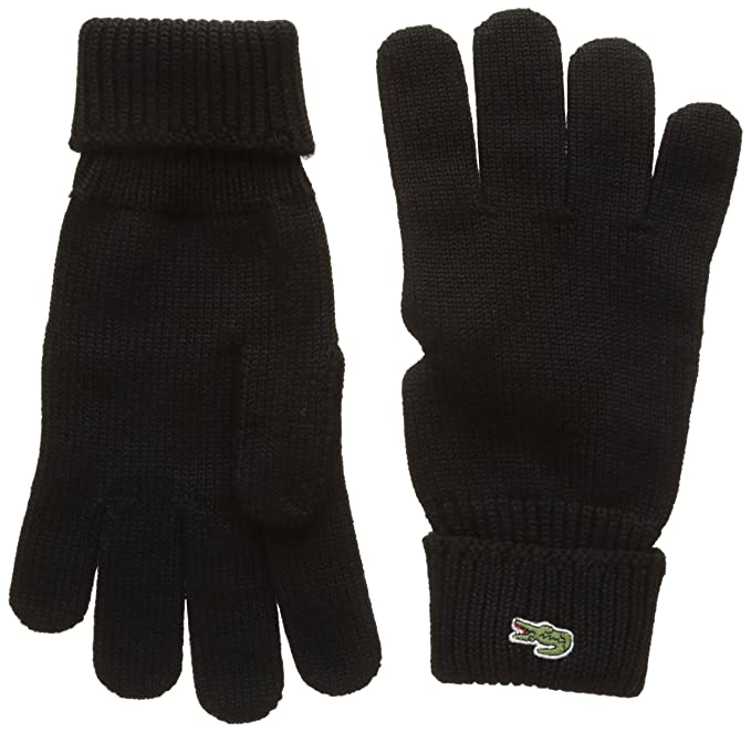 097655f1164 Lacoste Men s Rv4214 Gloves  Amazon.co.uk  Clothing
