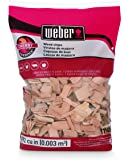 Weber Stephen Products 17140 Cherry Wood Chips, 192 cu. in. (0.003 cubic meter)