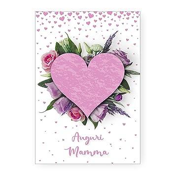 Compleanno Mamma Idea Regalo.Biglietto Auguri Compleanno Cuore Di Mamma Idea Regalo Festa Della