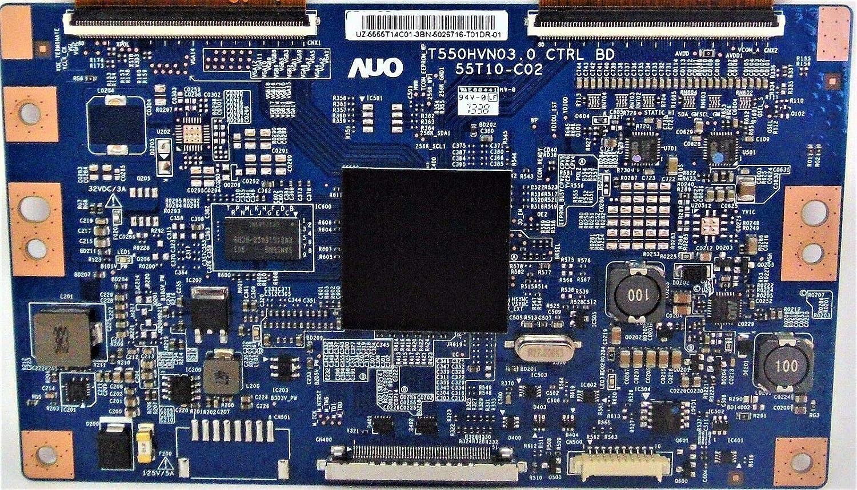 55.55T14.C01 T-Con Board Compatible with Samsung UN55FH6003FXZA AH01 T550HVN03.0, 55T10-C02