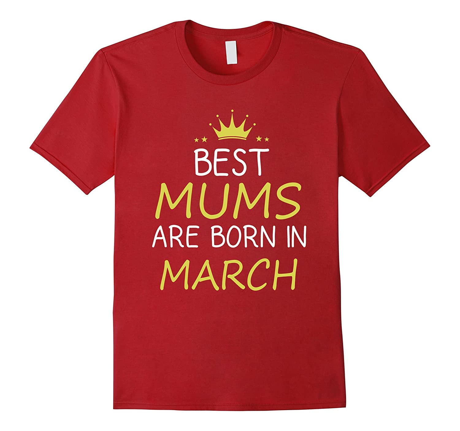 Best Mums Are Born in February Birthday Gifts T shirt-TH