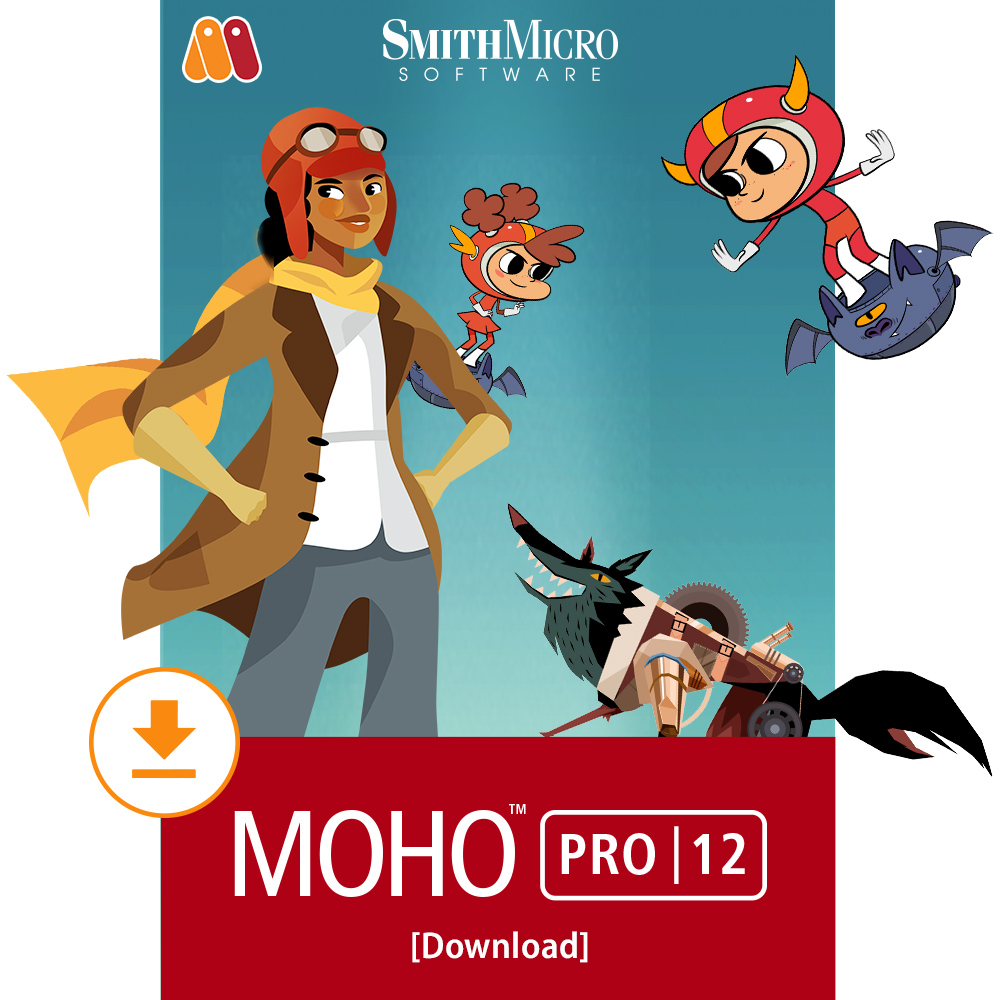 Moho Pro 12 [Download] by Smith Micro Software Inc.