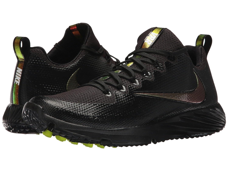 (ナイキ) NIKE メンズフットボールアメフトシューズ靴 Vapor Speed Turf Black/Black/Cool Grey 12 (30cm) D - Medium B07BQR9HMJ