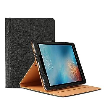Caso para iPad Pro 10,5 , Sparin Funda,Carcasa para Ipad Pro 10,5 Pulgadas con Característica [Auto Sleep/Wake] [antideslizante] ligero, Color Negro