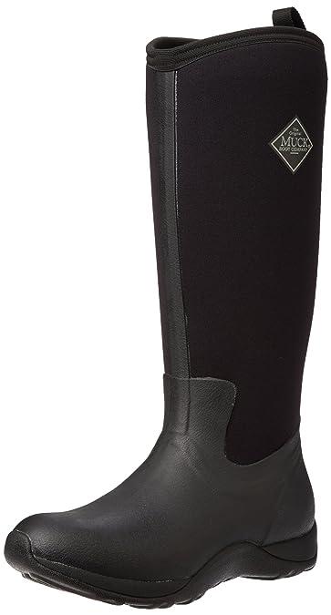 Muck Boots Arctic Adventure, Damen Stiefel, Schwarz - Black (Black), 36