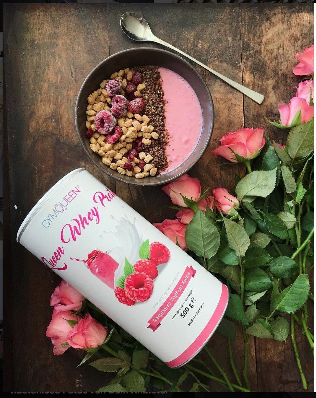 GymQueen Proteína de Whey - Proteína de suero de leche concentrada e aislada de GymQueen - Producto Alemán de Calidad (Cereza y plátano): Amazon.es: Salud y ...