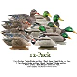 Greenhead Gear Pro-Grade Duck Decoy,Mallards/Harvester Pack,Dozen