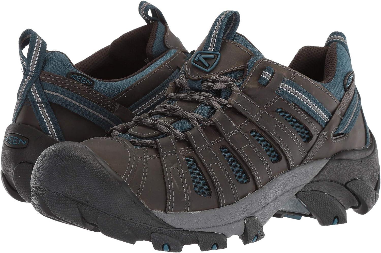 [キーン] メンズハイキングアウトドアシューズ・靴 Voyageur Alcatraz/Legion Blue 13 (31cm) D - Medium [並行輸入品]