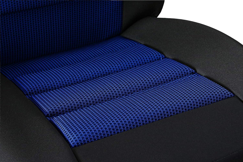 Saferide Universal Sitzmatte Schwarz 1Stk Schutz Sitzschoner Sitzbezug Vordersitz Schutzabdeckung Sitzauflage Schaumstoff VIP Ergonomic