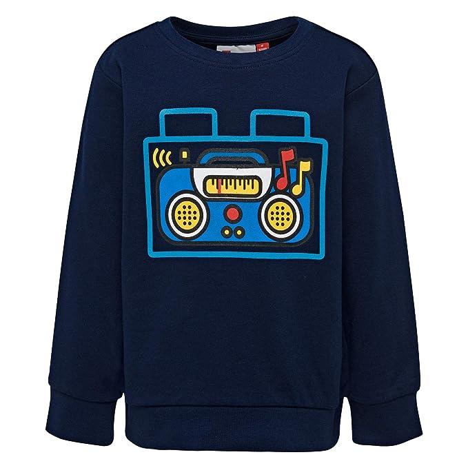 LEGO Wear Duplo Boy-Sirius 102-Sweatshirt Sudadera, Azul ...