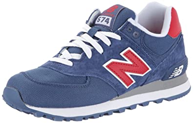 detailed look eef8a 22d90 New Balance Unisex Adults  ML574CVR Low-Top Sneakers Blue Size  11.5