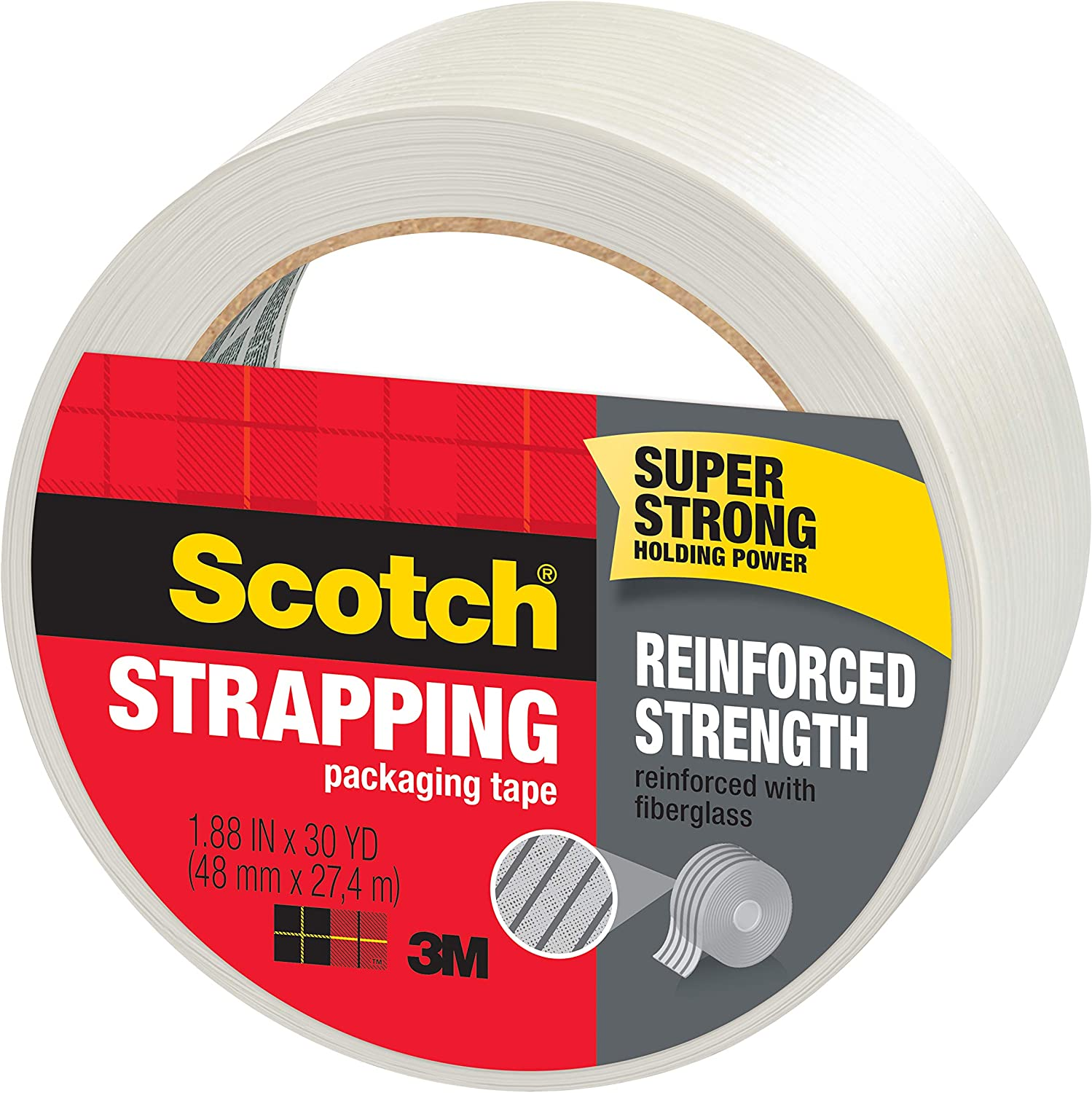Strapping Tape 1.88 x 30 Yards New