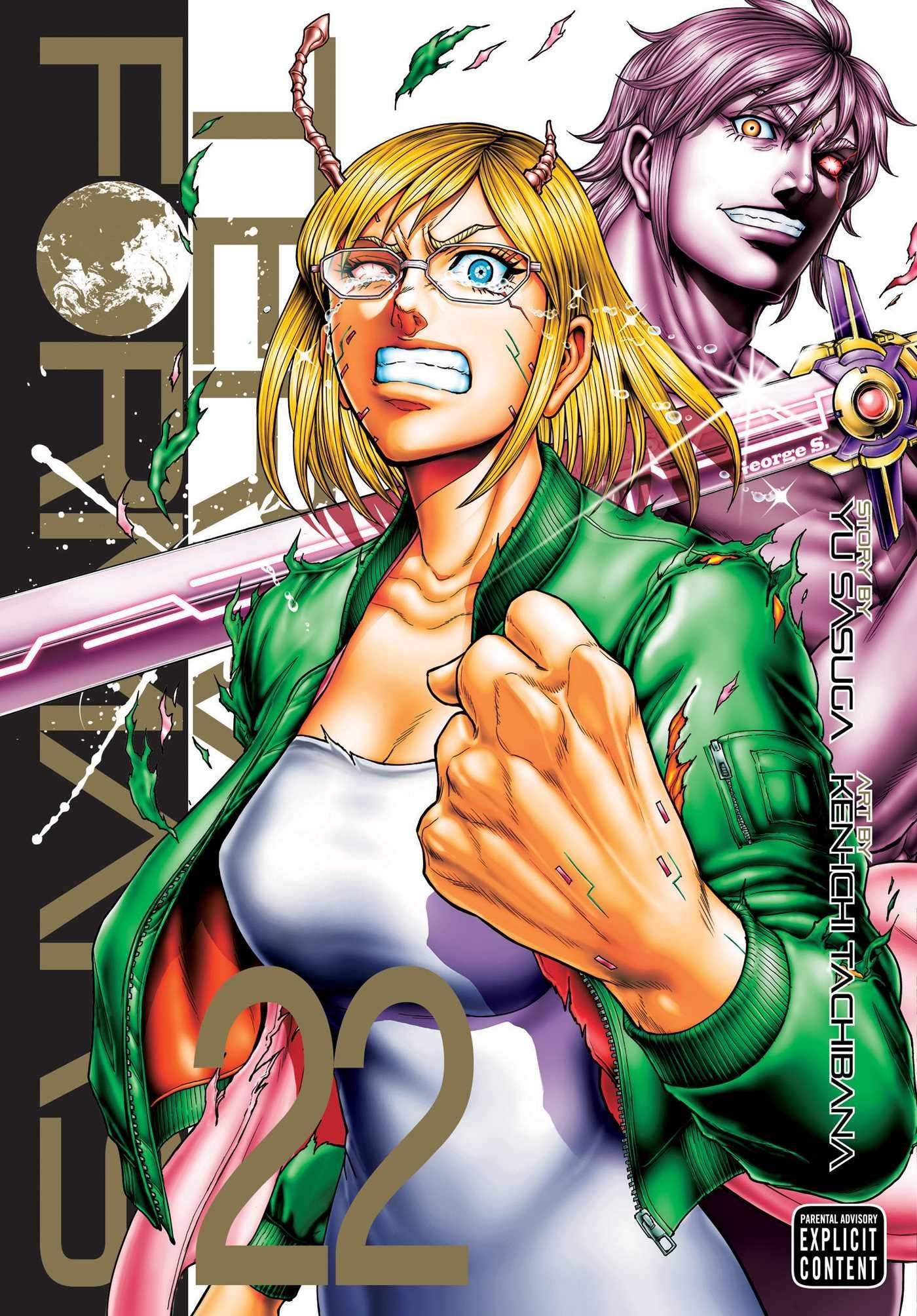 Terra Formars 22 Volume 22 Amazon Co Uk Sasuga Yu Kenichi Tachibana 9781974709557 Books