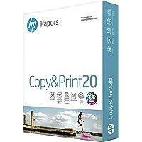 HP Printer Paper 8.5x11 Copy&Print 20 lb 1 Ream 500 Sheets 92 Bright Made in USA FSC Certified Copy Paper HP Compatible…