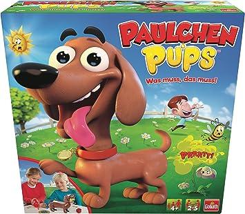 Goliath Juego de Mesa para niños Paulchen Pups (30685), divertirse con cachorritos, entretiene a Mayores y pequeños (a Partir de 4 años): Amazon.es: Juguetes y juegos