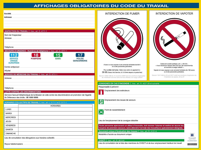 Affichages Obligatoires Du Code Du Travail Alertes De Mises A Jour