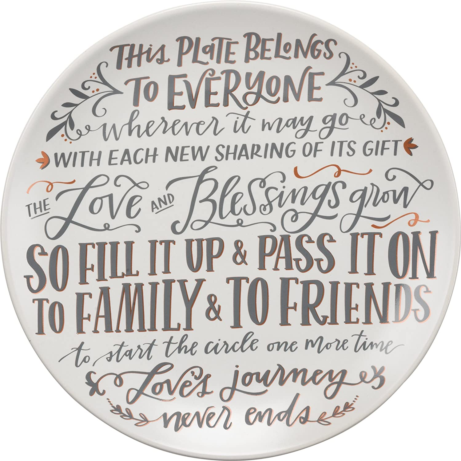 Giving Plate - This Plate - 12