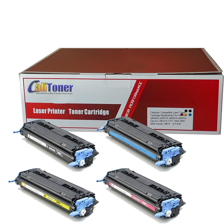 2PK Q6000A Black Toner Cartridge for 1600 2600 2605