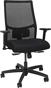 HON Ignition 2.0 Mesh Back Task Chair (Black/Black)