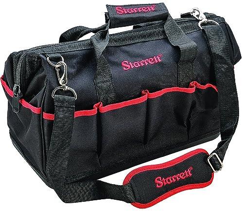 Starrett BGM Zippered Handtool Bag with Exterior and Interior Pockets, Medium