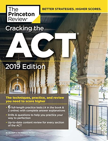 Amazon Com Cracking The Act With 6 Practice Tests 2019 Edition 6 Practice Tests Content Review Strategies College Test Preparation 9780525567653 The Princeton Review Books To gain access to their pdf files, one must navigate three seperate links, the last of which leads to a hashed google drive file. cracking the act with 6 practice tests