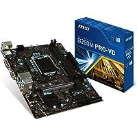 MSI B250M PRO-VD SOKET 1151 DDR4-2400 VGA DVI M.2 .USB3.1 mATX