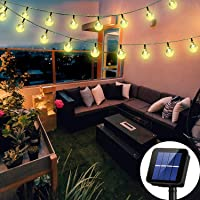 Solar String Lights Globe 38 Feet 66 Crystal Balls Waterproof LED Fairy Lights 8 Modes Outdoor Starry Lights Solar…