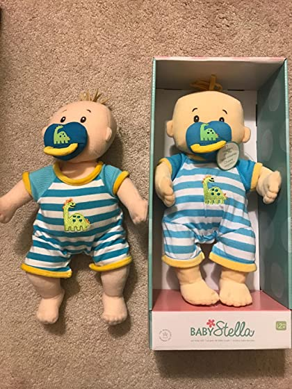 Manhattan Toy Baby Stella Boy Soft First Baby Doll for Ages 1 Year and Up, 15