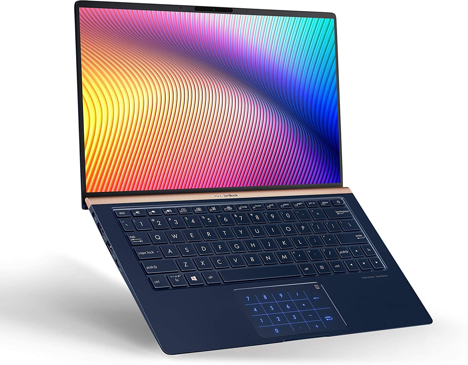 ASUS ZenBook 13, 13.3 in FHD Wideview, Intel Core i7-8565U Up to 4.6GHz, 16GB RAM, 512GB PCIe SSD