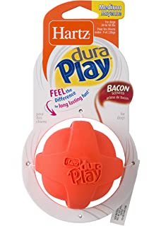 Hartz Dura Play Ball Medium For Dogs Available In 2 Colors Orange
