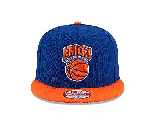 c3323a984 Amazon.com   NBA New York Knicks Hardwood Classics 2Tone Basic 9FIFTY  Snapback Cap