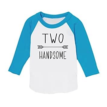 second birthday boy shirt two handsome boys 2nd birthday outfit 2t blue