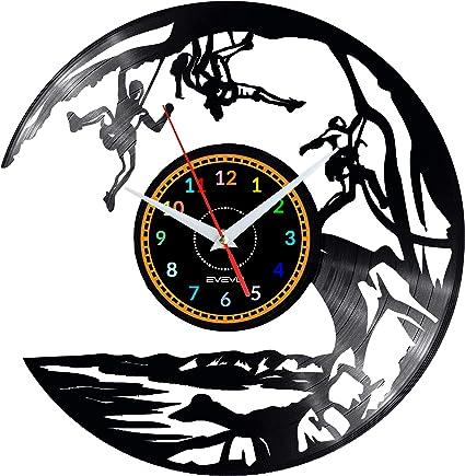 EVEVO Escalada Escalada Reloj De Pared Vintage Diseño Moderno ...