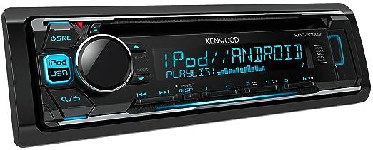 7 opinioni per Kenwood KDC-300UV Sintolettore CD con controllo diretto iPod/iPhone, USB, Nero