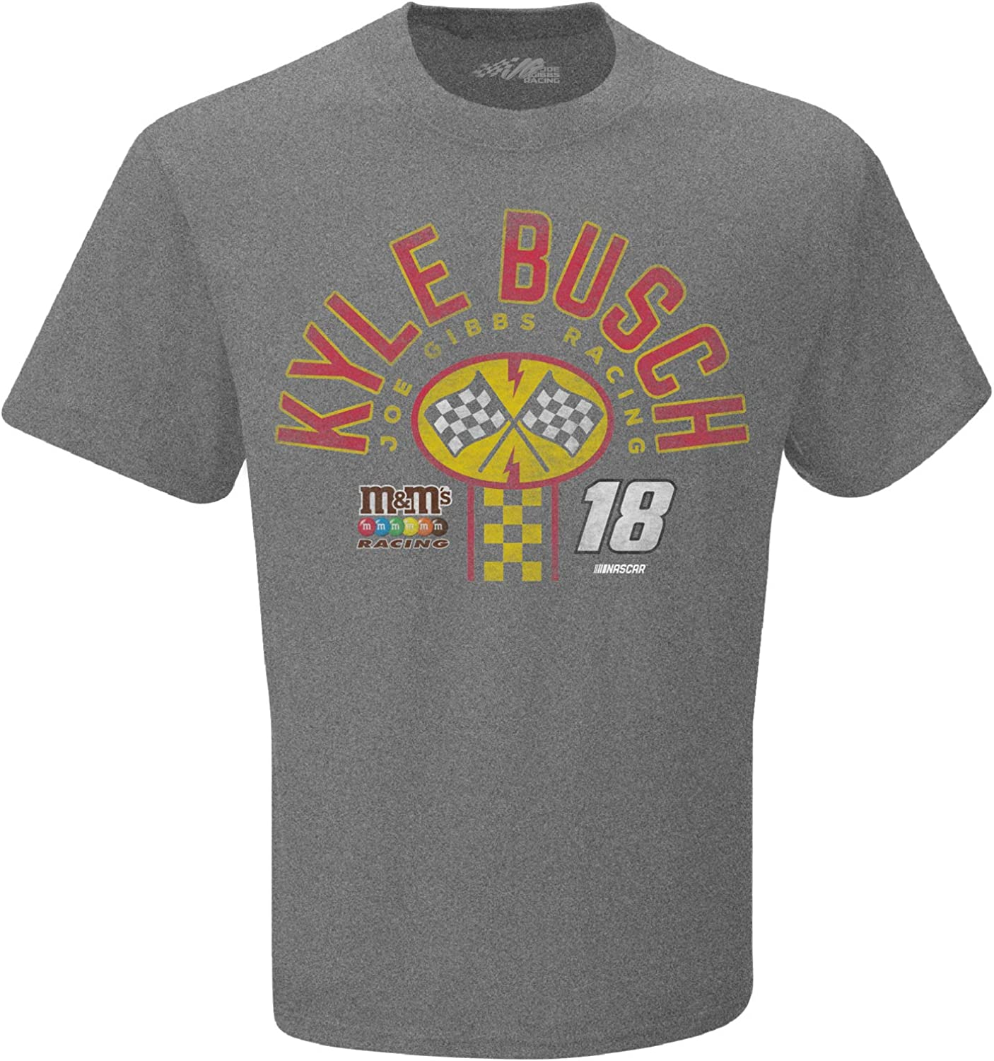 Checkered Flag 2020 NASCAR-Pit Stop-Vintage Retro Dual Blend Driver T-Shirt