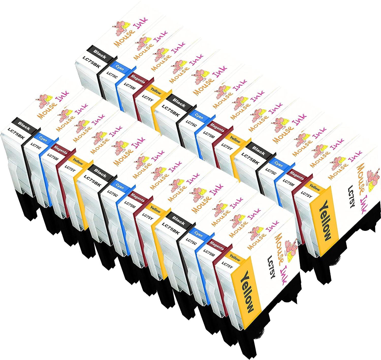 限定版 マウスインク互換マウスインク 6セット B07HXVLDHQ Brother LC-75 LC75 MFC-J280W MFC-J825DW MFC-J425W MFC-J430W MFC-J435W MFC-J435W MFC-J5910DW MFC-J625DW MFC-J6510DW MFC-J6710DW MFC-J6910DW MFC-J825DW MFC-J835DW B07HXVLDHQ, 第一ゴルフ カスタムクラブ専門店:4445f22e --- diceanalytics.pk