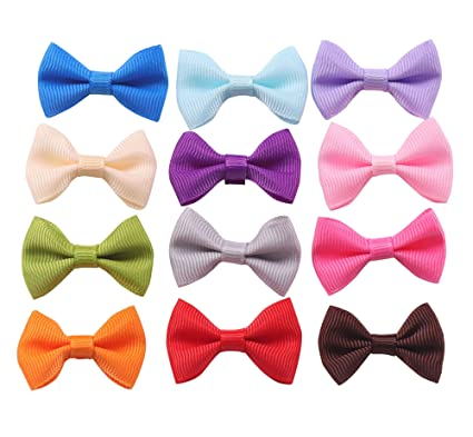 Amazon Com Yaka 96pc Grosgrain Ribbon Mini Bow Ties Craft
