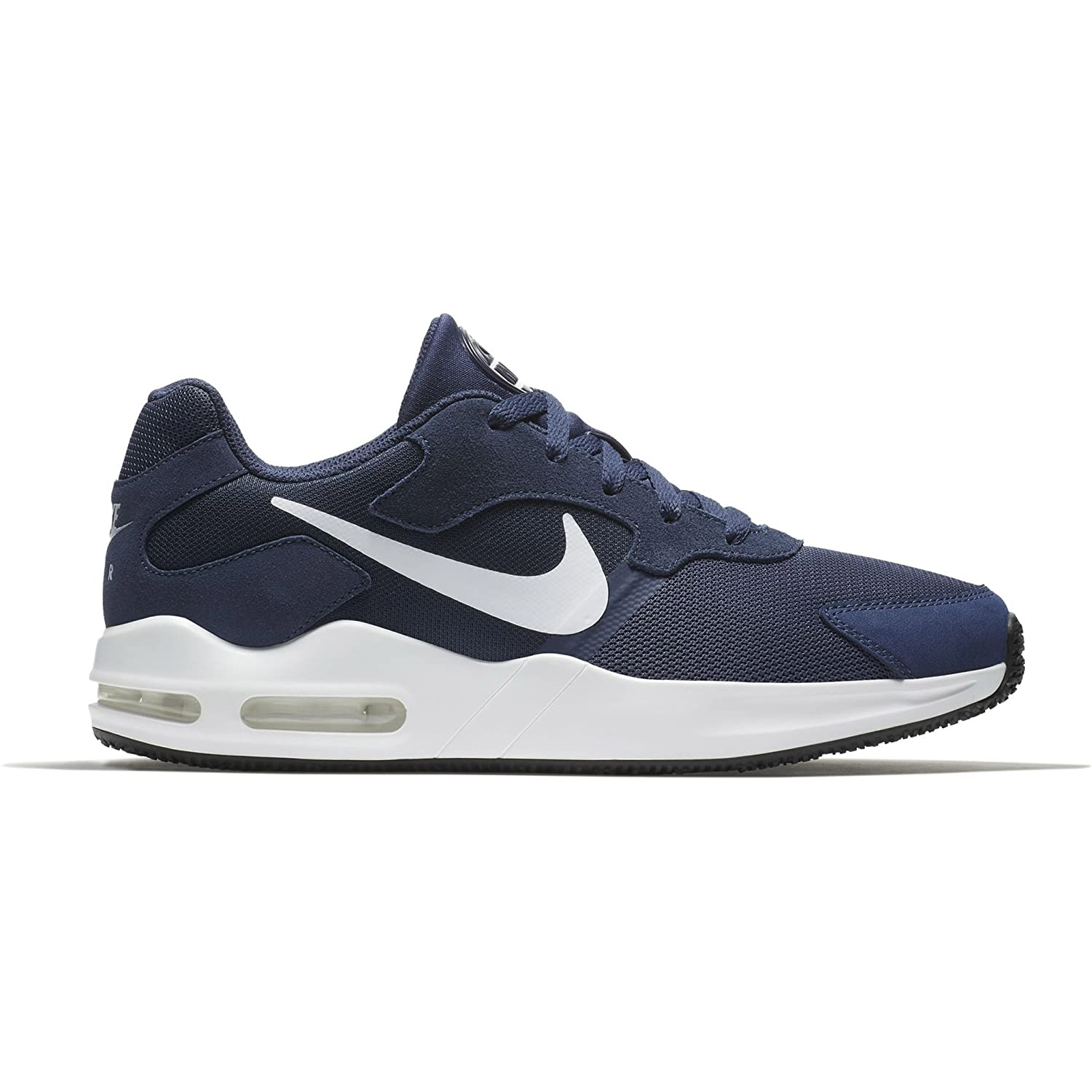 2df26a1a48a69 NIKE Men's Air Max Guile Running Shoe, Midnight Navy/White 10