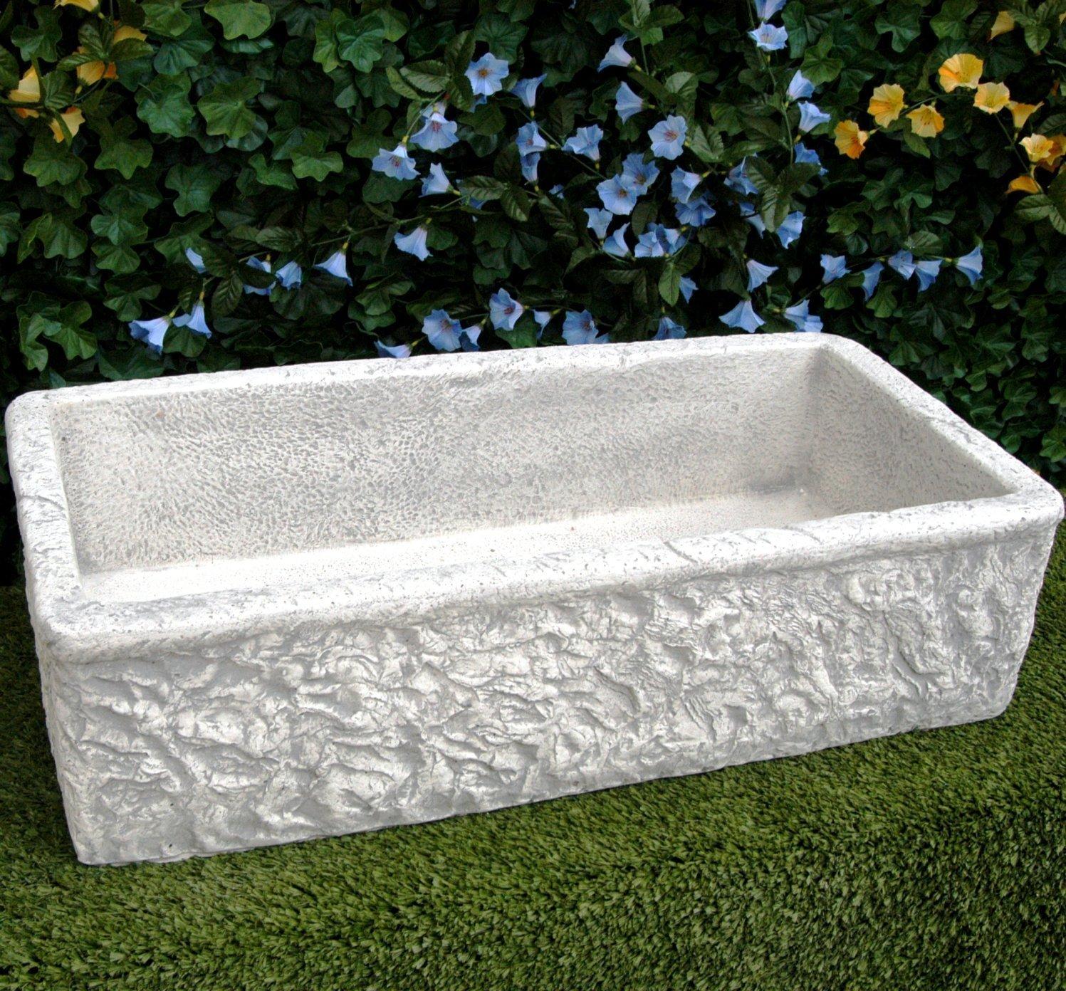 Vasca da giardino lavello lavabo in cemento da giardino for Vasche da giardino in plastica