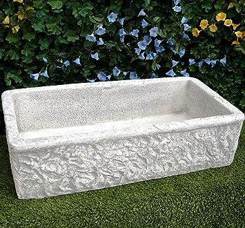 Lavello In Cemento Lavabo Fontana Misure 80x40 H20 Cm Amazon