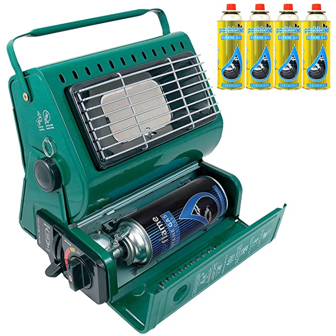 Amazon.com: Topflame 1.3Kw Portable Gas Heater Camping ...
