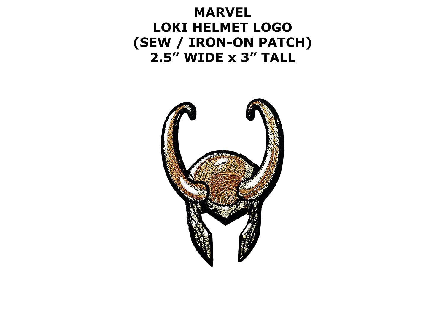 Amazon Marvel Comics Loki Super Hero Diy Embroidered Sew Or